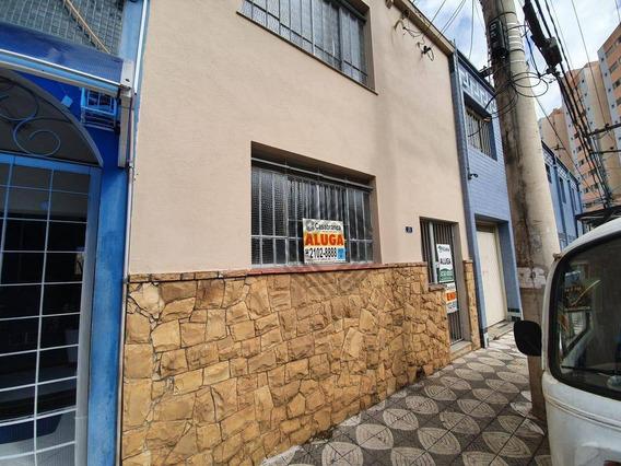 Sobrado Com 2 Dormitórios Para Alugar, 138 M² Por R$ 1.200,00/mês - Centro - Sorocaba/sp - So4433