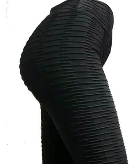 Calza Anticelulitica Modeladora Talle S Al.xxl Negro Blanco