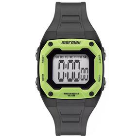 Relógio Mormaii Infantil Digital Preto/verde Mo9451ac/8v