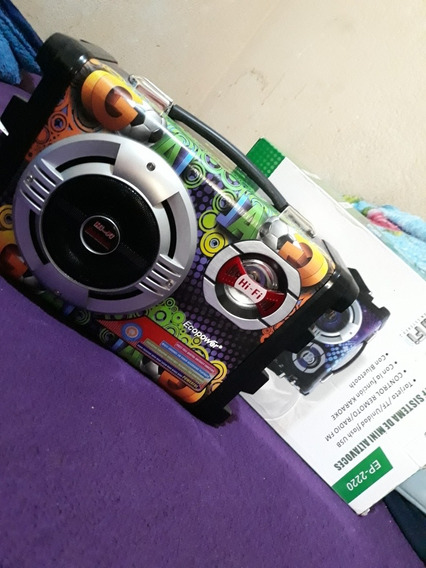 Caixa De Som Ecopower Ep2220