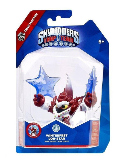 Boneco Skylanders Trap Team Winterfest Lob Star