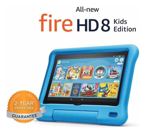 Tablet Amazon Fire Hd 8 Kids 32 Gb Con Alexa 2020 Niños