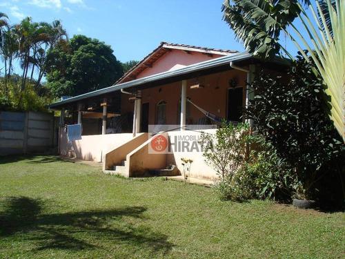 Chácara Com 2 Dormitórios À Venda, 1232 M² Por R$ 400.000,00 - Jardim Monte Belo - Campinas/sp - Ch0065