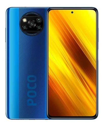Xiaomi Poco X3 Nfc Azul 128gb 6gb Ram Dual Sim Global Nuevo