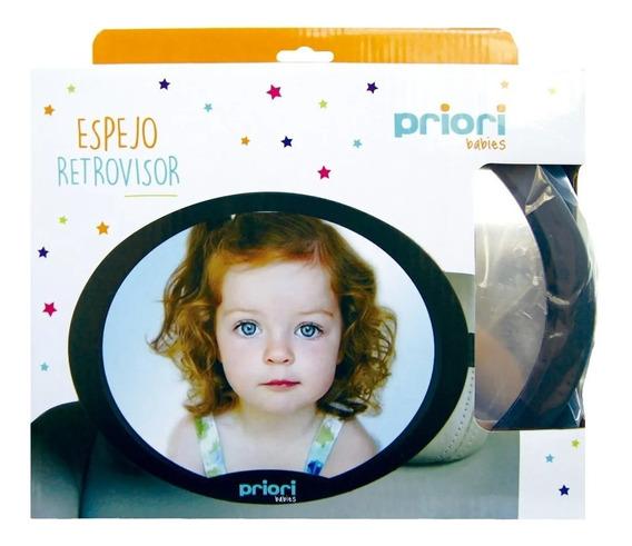 Espejo Retrovisor Ovalado Priori (7185)