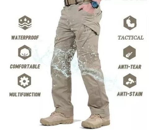 Imagen 1 de 4 de Pantalones Tácticos Ligeros Para Hombre