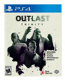 Outlast Trinity Ps4 Fisico Nuevo Original Sellado
