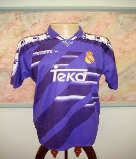 Camisa Futebol Real Madrid Espanha Kelme Antiga 790