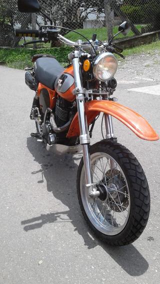 Yamaha Xt 500 Naranja 79