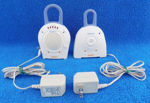 Monitor Bebe Sony Cuna Corral Radio Intercomunicador Bebe