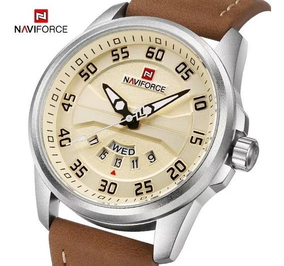 Relógio Naviforce Militar - Original E Barato - Mod 9124