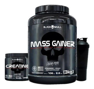 Mass Gainer + Creatina 300grs + Coquet Brinde