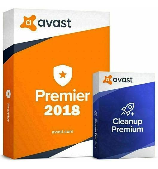 Avast Premier 2019 + Cleanup Chave Original 10 Anos 6 Pc