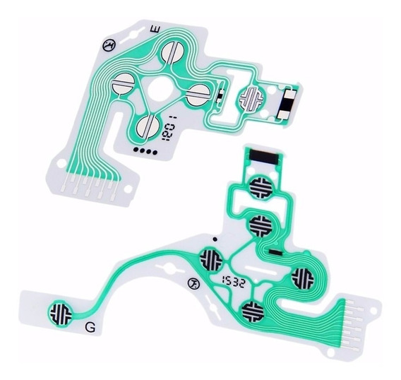 Película Placa Condutiva Modelo Novo P\ Controle De Ps4 Sony