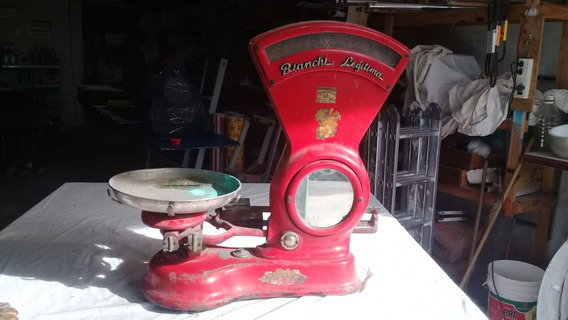 Antigua Balanza De Almacen Bianchi Legitima