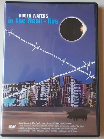 Dvd Roger Waters - In The Flesh - Live - Original