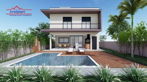 Imagem 1 de 5 de Casa Com 3 Dormitórios À Venda, 177 M² Por R$ 1.330.000,00 - Condomínio Terras De Atibaia I - Atibaia/sp - Ca4067