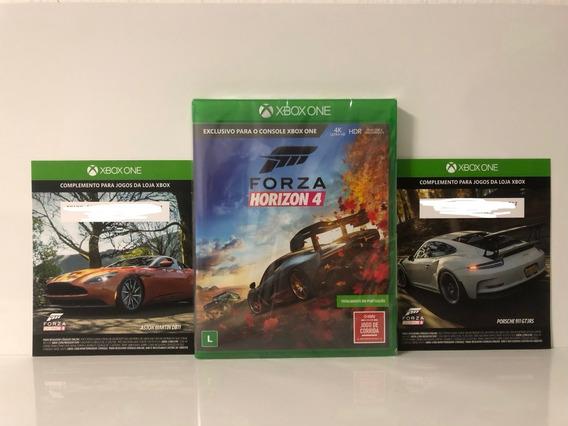 Jogo Forza Horizon 4 Xbox One Mídia Física + 2 Dlc Promoção