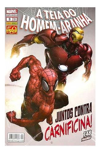A Teia Do Homem-aranha 9 Marvel Comics Panini 2011