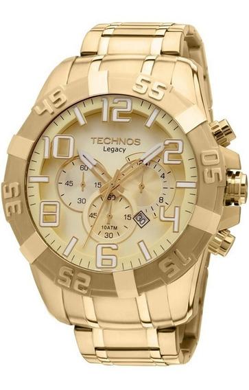 Relógio Technos Dourado Masculino Classic Legacy Os20ik/4x