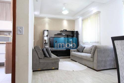 Casa Com 3 Dormitórios À Venda, 123 M² Por R$ 590.000,00 - Ponta Da Praia - Santos/sp - Ca0150
