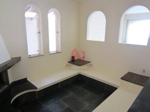 Imagem 1 de 29 de Alphaville 3 - Casa Com 4 Dormitórios 2 Suítes À Venda, 335 M² - Alphaville - Santana De Parnaíba/sp - Ca6357