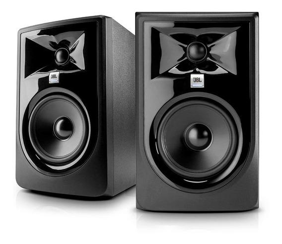 Jbl Mk2 305p Mkii Par Monitores De Áudio Ativos Oferta Black