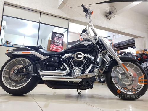 Harley Davidson Fat Boy Preto 2020