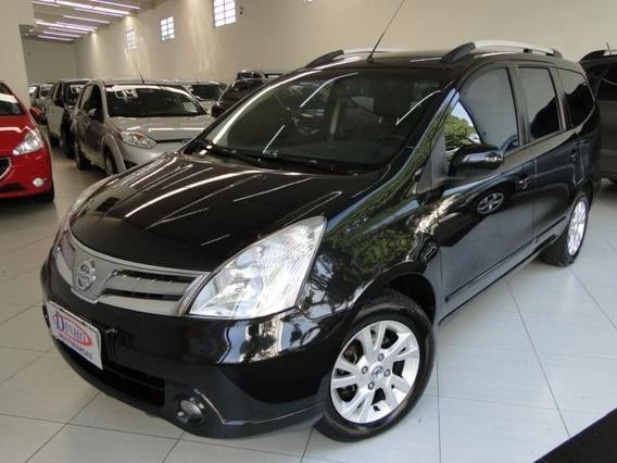 Nissan Grand Livina Sl 1.8 16v Flex, Awj1827