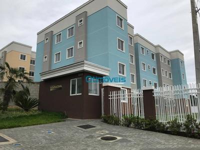 Apartamento Com 1 Dormitório À Venda, 36 M² Por R$ 140.000 - Planta Almirante - Almirante Tamandaré/pr - Ap1157