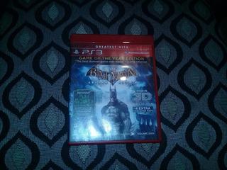 Batman Arkham Asylum Ps3 Usado Fisico