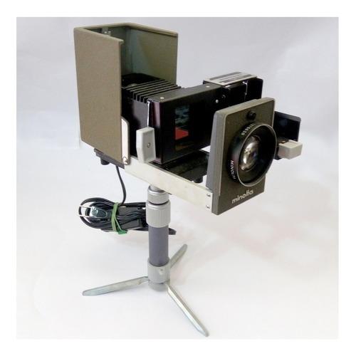 Proyector Diapositiva Minolta 35mm  + Tripode