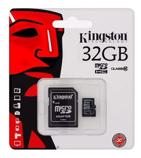 Memoria Micro Sd Kingston 32gb Clase 10 Canvas Select 80mb/s