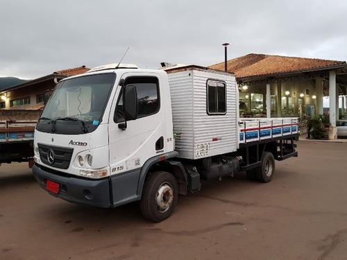 Mercedes-bens 815 4x2 Ano 2013 Cabine Suplementar   3/4