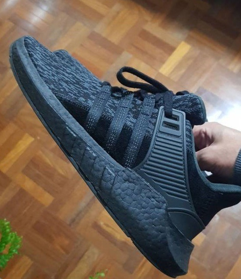 adidas Eqt 93/17 Triple Black Boost