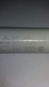 Capacitor Permanente 8uf 250v