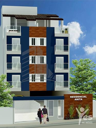 Imagem 1 de 13 de Ref.: 2146 - Apartamento Sem Condomínio,02 Quartos E 01 Vaga No Bairro Santa Maria, Santo André - Sp. - 2146
