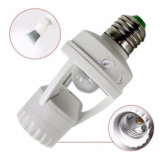 7 Sensor De Presença P/lâmpada Fotocelula Iluminação Auto