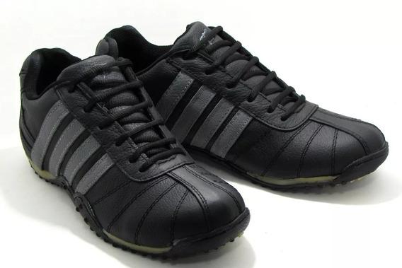 Zapatillas Fierro´s Cuero Orig. Talles 40 41 Negra