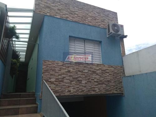 Sobrado Com 4 Dormitórios À Venda, 270 M² Por R$ 650.000 - Gopoúva - Guarulhos/sp - Ai9737