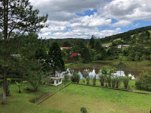 Imagem 1 de 14 de Chácara Com Lago Antes Do Centro De Ibiúna  Cod:1021