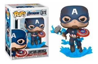 Funko Pop! Avengers Endgame Capitán América Con Mjolnir 573