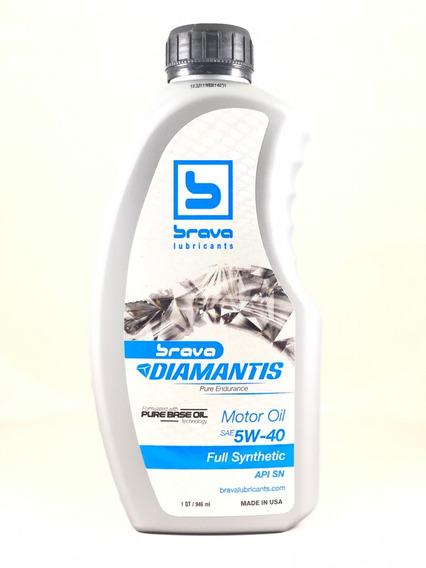 Aceite 5w40 Full Sintetico Brava Api Sn Importado De Usa