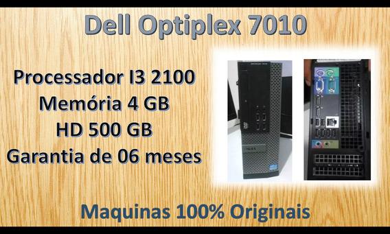 Dell Optiplex 7010 - I3 2100 - 4 Gb Memoria - Hd 500 Gb