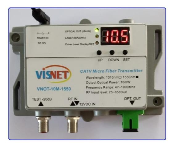 Kit (transmissor + Combinador Passivo + Receptor Wdm)