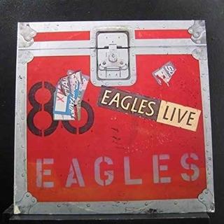 Eagles Live - Set De Lp Doble Con Cartel Grande