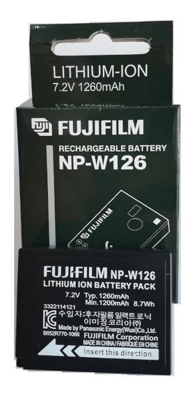 Bateria Original Fuji Np-w126 Hs50 Hs35 X-t20 X-pro 2 X100f