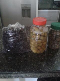 Aceitunas Rellenas, Alcaparras, Pasas (combos De 1/2)