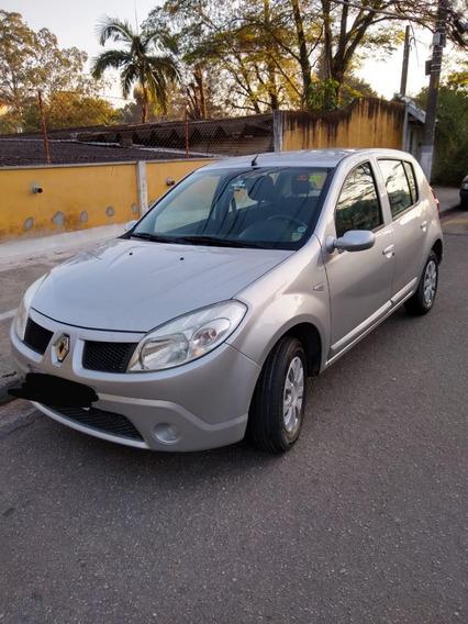 Renault Sandero Expression 2009 1.0 16v Com Manual