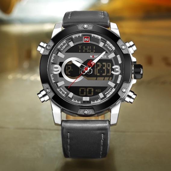 Relógio Masculino Naviforce Analógico Digital Super Barato